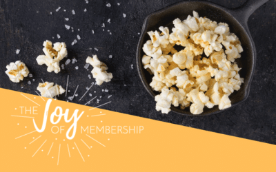 All I Really Needed Was Popcorn Salt: Is Your Membership Like the Supermarket?