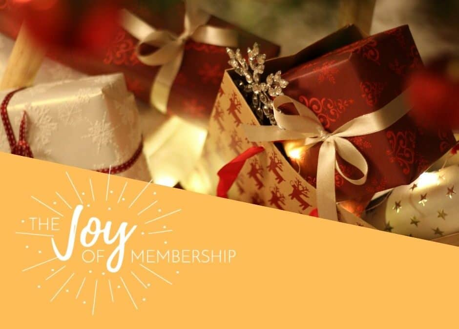Holiday Gifts for Members, Staff, Volunteers and Boards