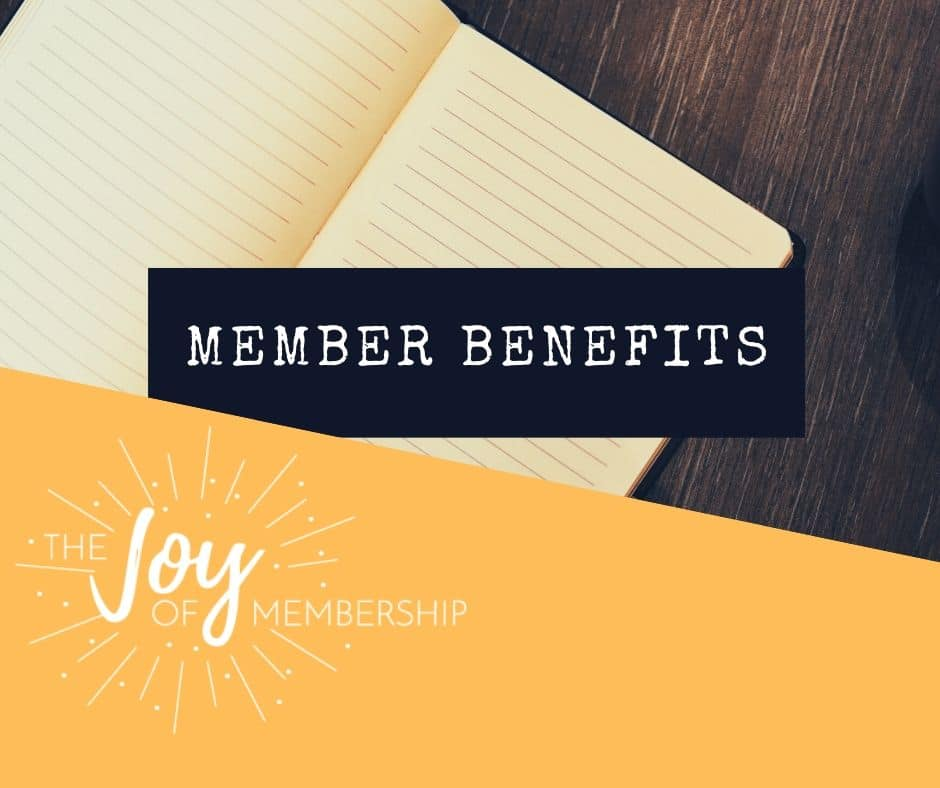 member benefits list