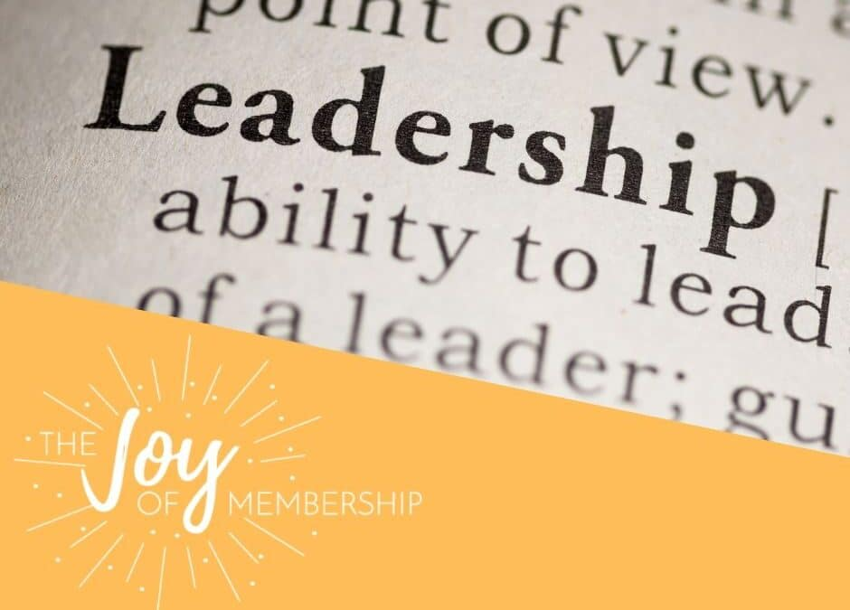 Up-Leveling Members Into Leadership