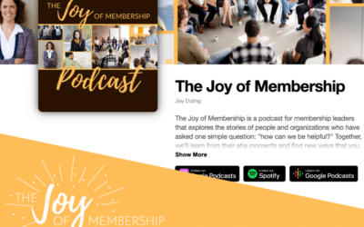 Podcasting as Part of the Member Journey
