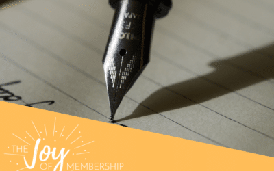 Finding the Right Words to Sell Your Membership