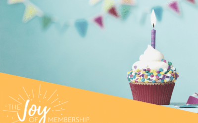 It's a Milestone Moment for The Joy of Membership Podcast